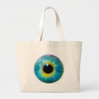 Eye I Large Tote Bag