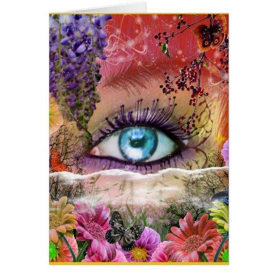 Eye Imagine Again Card