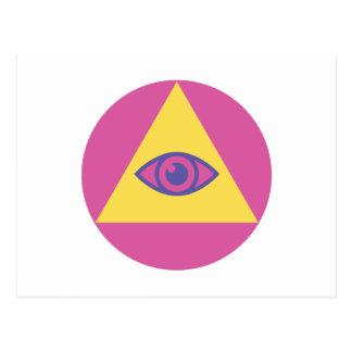 Eye In Pyramid Postcard
