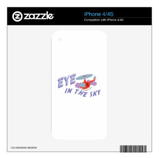 Eye In Sky Decals For The iPhone 4S