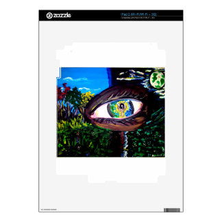 Eye In The Middle of the Forest Skins For The iPad 2