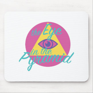 Eye In The Pyramid Mouse Pad