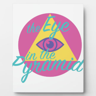 Eye In The Pyramid Plaque