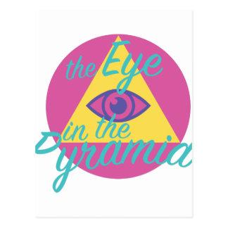 Eye In The Pyramid Postcard