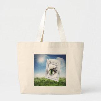 Eye in the Sky Tote Bags