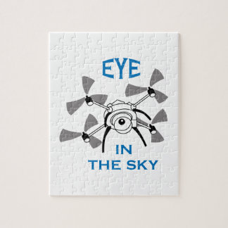 Eye In The Sky Jigsaw Puzzle