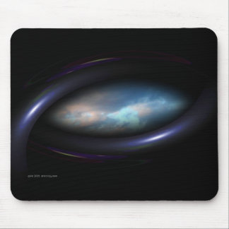 Eye in the Sky Mouse Pads