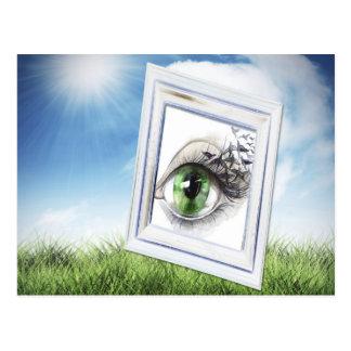 Eye in the Sky Postcard