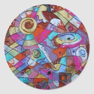 Eye in the Sky Sticker