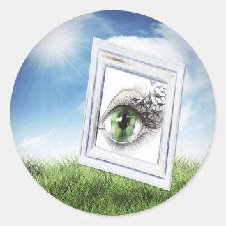 Eye in the Sky Stickers