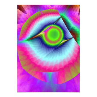 Eye in the Sky Sunset Card
