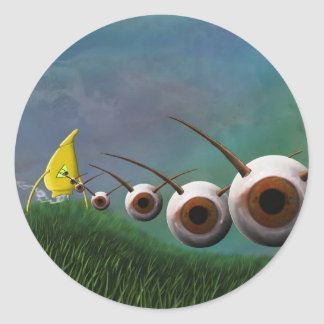Eye Invaders Sticker