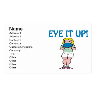 Eye It Up Business Cards