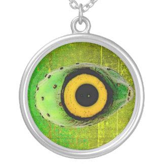 Eye-Kon Round Pendant Necklace