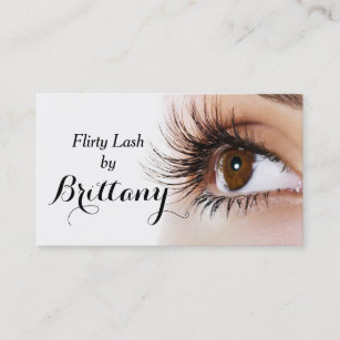 Nail extensions business cards zazzle eye lashes extensions makeup artist cosmetologist business card reheart Choice Image