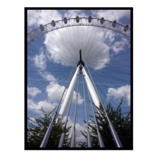 eye london back postcard