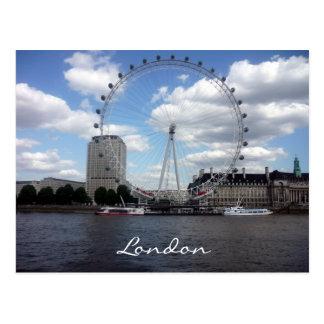 eye london view postcard