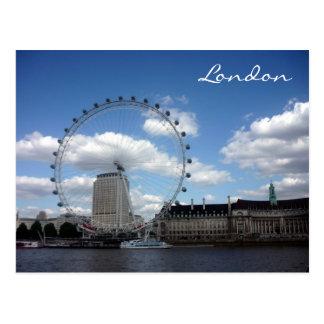 eye london wheel postcard
