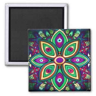 Eye Lotus Art Magnet