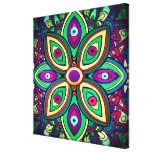 Eye Lotus (Wrapped Canvas Art Print) Gallery Wrapped Canvas