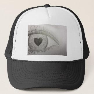 Eye Love by Julie Anne Trucker Hat