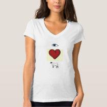 Eye love ewe (I love you) t-shirt