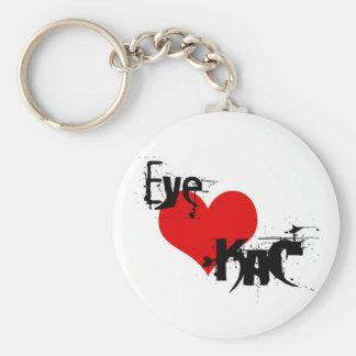 Eye LOVE KaC Keychain