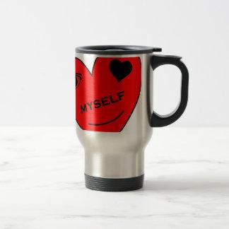 Eye Love Myself 15 Oz Stainless Steel Travel Mug