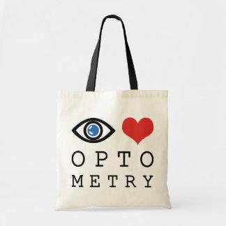 Eye Love Optometry Tote Bags