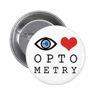 Eye Love Optometry Pinback Button