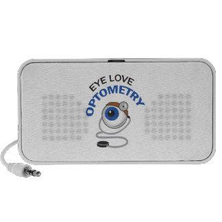 EYE LOVE OPTOMETRY MP3 SPEAKERS