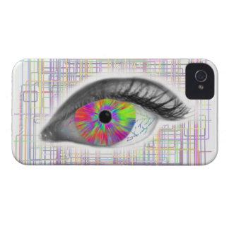 Eye Love Raves by Monroe Maven Case-Mate iPhone 4 Case