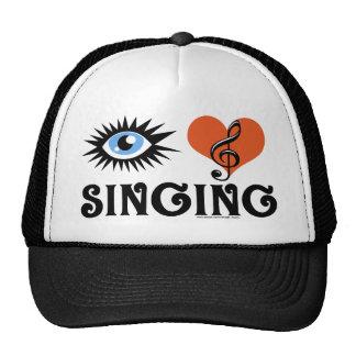 Eye Love Singing apparel Hats
