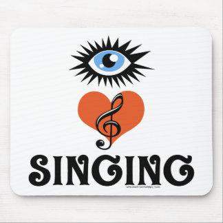 Eye Love Singing gifts Mousepad