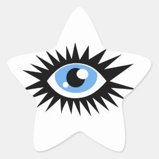 Eye Love Singing gifts Star Sticker