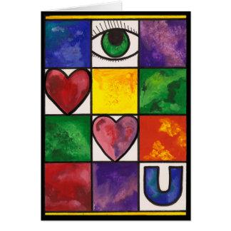 Eye Love U Card