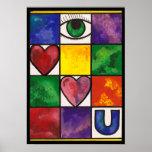 Eye Love U Poster