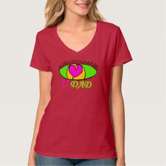 """Eye Luv U Dad"" T-shirt"