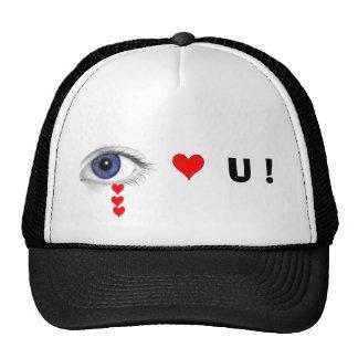 Eye Luv U ! Hat