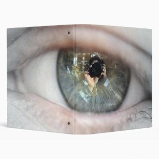 Eye-Macro Vinyl Binder