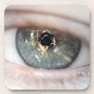 Eye-Macro by Shirley Taylor Coaster