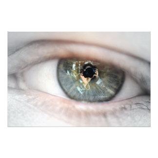 Eye-Macro Photographic Print