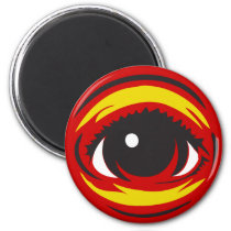 Eye magnet - Red magnets