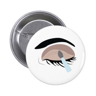 Eye Makeup Pinback Button