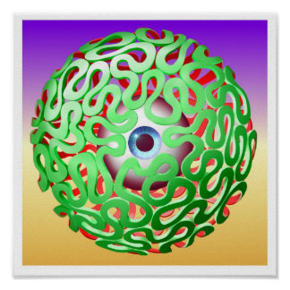 eye-maze poster