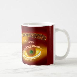 Eye Messenger Gold Mug