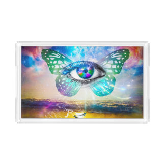 Eye Mind Acrylic Vanity Tray
