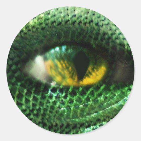 Eye of a.. classic round sticker