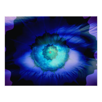 Eye of a Guardian Angel - Poster