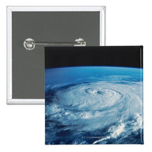 Eye of a Hurricane 2 Inch Square Button